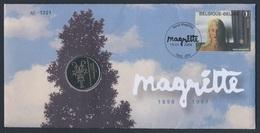 Belgie Belgique Belgium 2008 Coinletter / Muntbrief + Mi 3793 - René Magritte, Kunstschilder / Peintre/ Artist / Maler - Arte