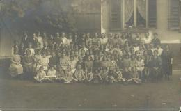 Carte Photo à Identifier -- Institut St. Jacques - Année 1921 - 1922. - Photo Gillard Rue Pont D'ile 13     (2 Scans). - Ecoles
