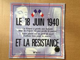 Disque Vinyle 33 Tours - Le 18 Juin 1940 Et La Résistance (Sélection Du Reader's Digest) - Vinyl Records