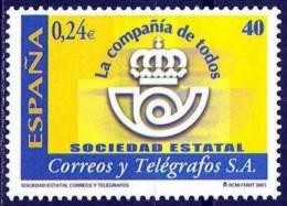 España. Spain. 2001. Sociedad Estatal De Correos Y Telegrafos - 1931-Hoy: 2ª República - ... Juan Carlos I