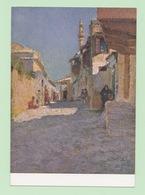 Anni 40 - RODI - Quartiere Mussulmano - Visioni Pittoriche Delle Isole Italiane Dell'Egeo Di LIDIO AJMONE - C_222 - Greece