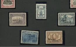 Occ 38/54 **  Cote 685,- E  Quelques Timbres Signés - Weltkrieg 1914-18
