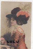 FEMMES N° 413 : élégante Avec Un Superbe Chapeau , édit. Lilas 7058 - Femmes