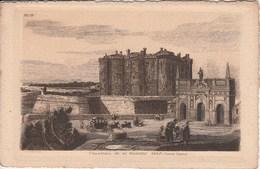 VIEUX PARIS 1640 Chateau De La Bastille 21G - France