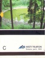 TARJETA TELEFONICA DE ESTONIA (TIRADA 7500) (007) - Estonia