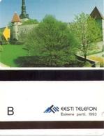 TARJETA TELEFONICA DE ESTONIA (TIRADA 7500) (017) - Estonia