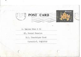 Malaysia 1979 20c, Rhododendron Scortechinii Post Card - Malaysia (1964-...)