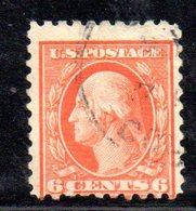 R384 - STATI UNITI 1916 , Yvert N. 204B Usato . Dent 10 Senza Filigrana - Used Stamps