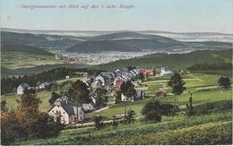 AK Oberpfannenstiel Erzgebirge Blick Aue A Niederpfannenstiel Lauter Bernsbach Grünhain Beierfeld Lößnitz Dittersdorf - Bernsbach