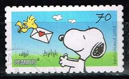 Bund 2018, Michel# 3371 O Comic: Peanuts - Gebraucht