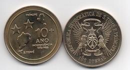 S. Tome E Principe - 100 Dobras 1985 Comm. AUNC Lemberg-Zp - Santo Tomé Y Príncipe