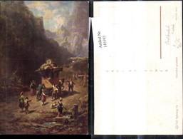 145593,Künstler Ak Carl Spitzweg Post Postkutsche Kutsche - Post & Briefboten