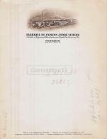 68 667 TURCKHEIM HAUT RHIN 19.. VIERGE - Fabrique De Papiers ANDRE SCHERB - Imprimerie & Papeterie