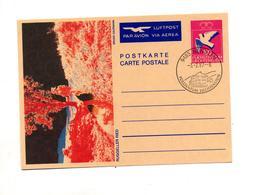 Carte Postale 100 Colombe Cachet Nendeln Illustré Ried - Stamped Stationery