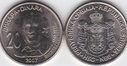 Serbia - 20 Dinara 2007 UNC 265 Y Dositej Obradovich Lemberg-Zp - Serbia