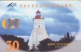 TARJETA TELEFONICA DE ESTONIA, FARO, TIRADA 20000 (021) - Estonia