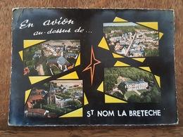 En Avion Au Dessus De Saint Nom La Breteche - Lapie éditeur - St. Nom La Breteche