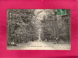 78 YVELINES, Marly-le-Roi, La Forêt, Animée, (A. Ossart) - Marly Le Roi
