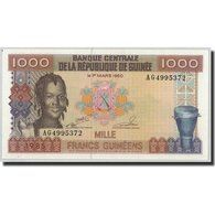 Billet, Guinea, 1000 Francs, 1985, 1960-03-01, KM:32a, NEUF - Guinea