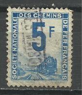 """FRANCE , TIMBRE POUR COLIS POSTAUX & AUTRES , Dit: Timbre Pour """" Petits Colis """" , 5 Frs , 1944 - 1947 , N° Y&T 4 - Colis Postaux"""