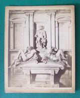 Photographie Ancienne Sur Carton - Italie - Florence - Tombeau De Julien De Médicis Duc De Nemours - Other