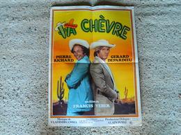 AFFICHE CINEMA LA CHEVRE DE FRANCIS WEBER AVEC PIERRE RICHARD ET GERARD DEPARDIEU - Posters