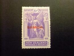 SAMOA 1920 Timbres De  Nouvelle Zélande Surchargés Yvert N 96 * MH - Samoa
