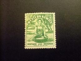 SAMOA 1935 Jeune Fille Indigène Yvert N 121* MH - Samoa