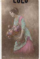 FEMMES N° 401 : Poisson D Avril Portrait Panier Fleurs : édit. ? - Femmes