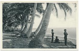 FIDJI, FIJI - Gau, Coastal View - Fidji