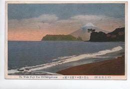 TO WISH FUJI FOR HI CHIRIGAHAMA - Japon