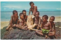 FIDJI, FIJI - Snow White And The Seven Pickaninnies - Fidji