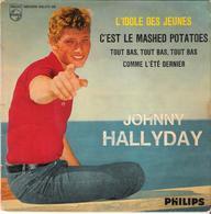 Disque Vinyle 45T - Johnny Hallyday - L'idole Des Jeunes - Other - French Music