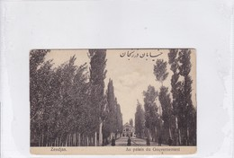 IRAN PERSIA. ZENDJAN. AU PALAIS DU GOUVERNEMENT-RARISIME-DELUXE ETAT-BLEUP - Iran