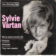 Disque Vinyle 45T -  SYLVIE VARTAN: Moi Je Pense Encore à Toi - Vinyl Records