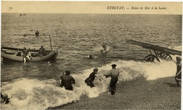76 ETRETAT - Bains De Mer à La Lame - Etretat