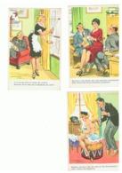 Illustrateur Jean Chaperon - Lot De 3 CP - Humour Coquin (fr57) - Chaperon, Jean