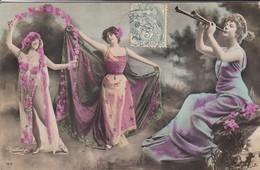 FEMMES ARTISTES--REUTHINGER  1313--( Robes Longue )--voir  2 Scans - Femmes