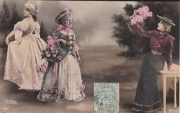 FEMMES ARTISTES--REUTHINGER  1297--( Robes Longue )--voir  2 Scans - Femmes