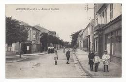 Achères  -  Avenue De Conflans - Acheres