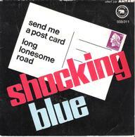 """Disque Vinyle 45T -  Shocking Blue"""" Send Me A Post Card"""" - Vinyl Records"""