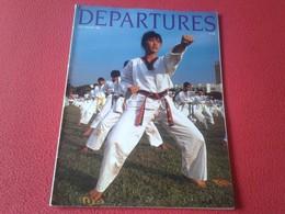 ANTIGUA REVISTA MAGAZINE DEPARTURES JULY AUGUST JULIO AGOSTO 1988 SINGAPORE SINGAPUR....ETC VER FOTO/S Y DESCRIPCIÓN - Tijdschriften