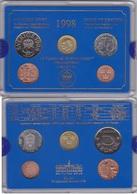 Sweden - Mint Set 4 Coins 50 Ore 1 5 10 Kronor 1998 UNC + Token Lemberg-Zp - Suède