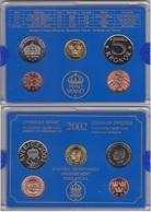 Sweden - Mint Set 4 Coins 50 Ore 1 5 10 Kronor 2002 UNC + Token Lemberg-Zp - Suède
