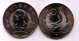 Taiwan - 20 Yuan 2001 UNC Lemberg-Zp - Taiwan