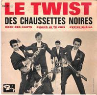 Disque Vinyle 45T -  Les Chaussettes Noires  LE TWIST - Vinyl Records