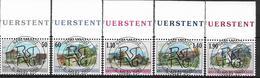 2000  Liechtenstein   Mi. 1229-33 Used   Freimarken: Dorfansichten - Liechtenstein