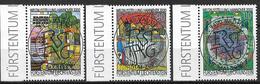 2000  Liechtenstein   Mi. 1235-7 Used  Weltausstellung EXPO 2000, Hannover: Umwelt Und Entwicklung - Liechtenstein
