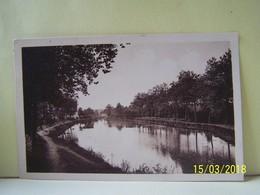 """PIERREFITTE-SUR-SAULDRE (LOIR ET CHER) LE CANAL DE LA SAULDRE.   100_3888""""b"""" - Other Municipalities"""