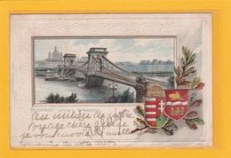 HONGRIE - BUDAPEST - Lanczhid Kettenbrücke - Hongrie